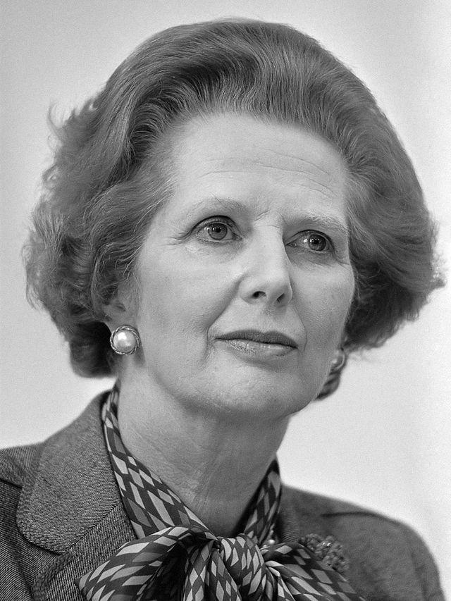 Żelazna Dama, czyli Margaret Thatcher/Wikimedia/Rob Bogaerts/CC BY-SA 3.0
