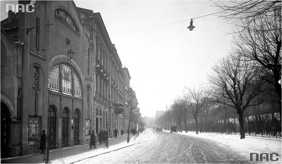 Hotel w 1933 roku