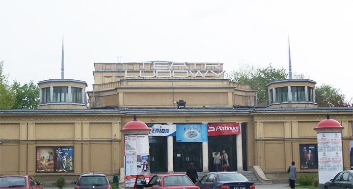 Teatr Ludowy/monia_er/Wikipedia/ CC BY-SA 3.0