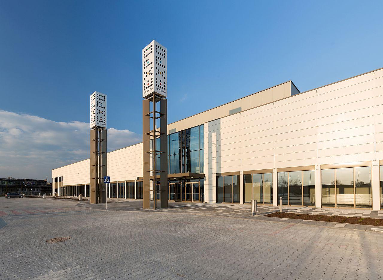 Międzynarodowe Centrum Targowo-Kongresowe EXPO Kraków/ Wikipedia/ Stanisław Rozpędzik