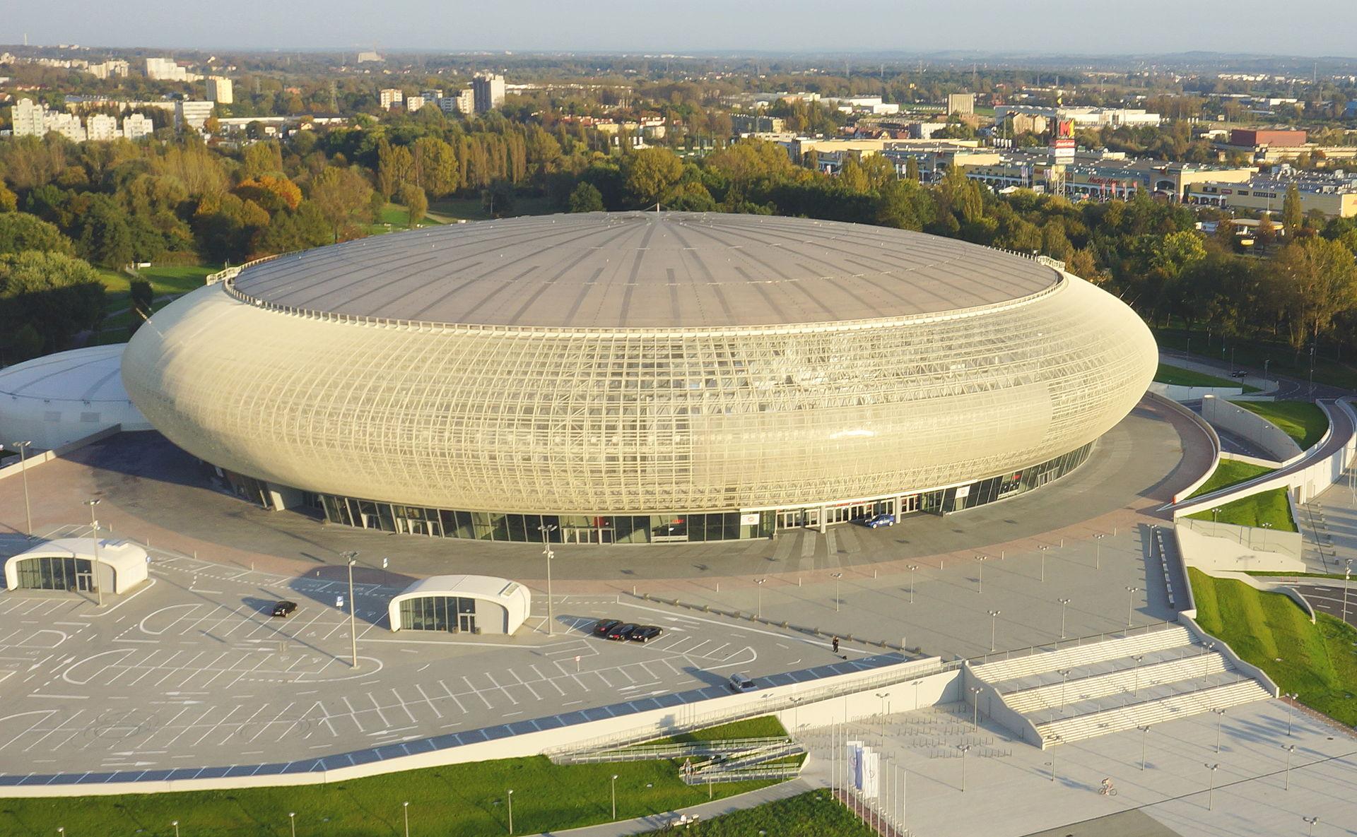 Tauron Arena/ Wikipedia/ Piotr Tomaszewski