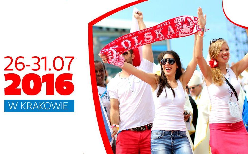 Plakat ŚDM/ http://www.krakow2016.com/
