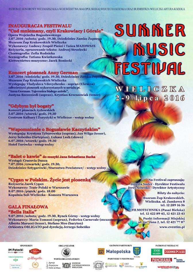 Pprogram festiwalu