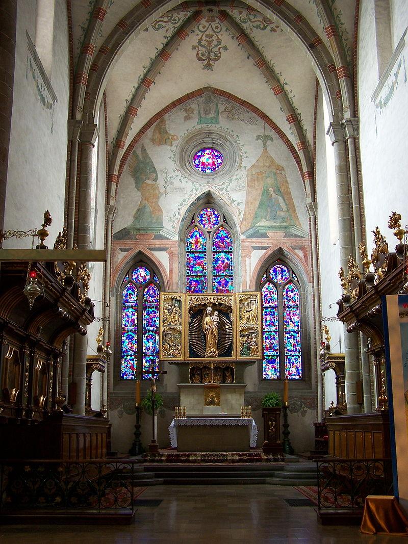 Klasztor cystersów-ołtarz główny/ Wikimedia/ Lestat (Jan Mehlich)