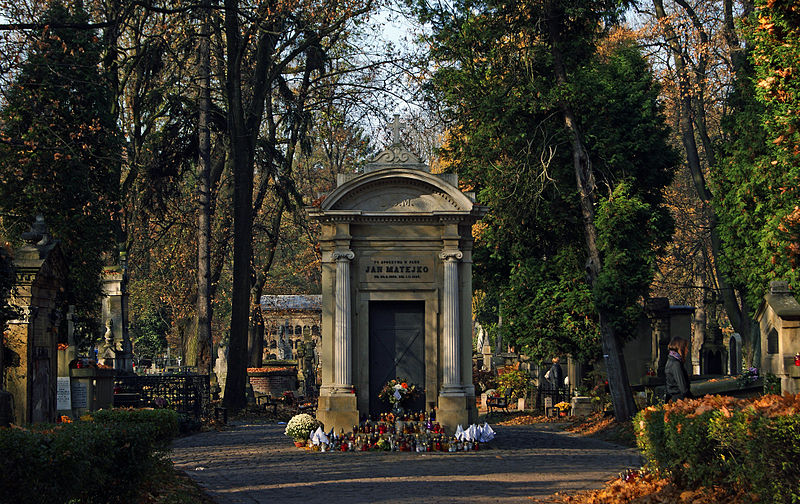 800px-grave_of_jan_matejko_polish_painter_rakowice_cemetery_26_rakowicka_street_krakow_poland