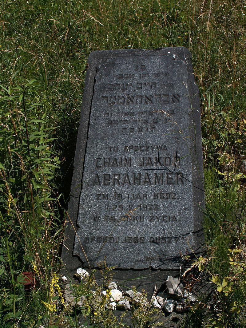 800px-podgorze_old_jewish_cemeterylast_matzevah_tombstonekrakowpoland