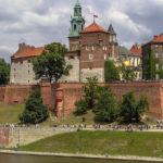 wawel i aleja gwiazd w krakowie